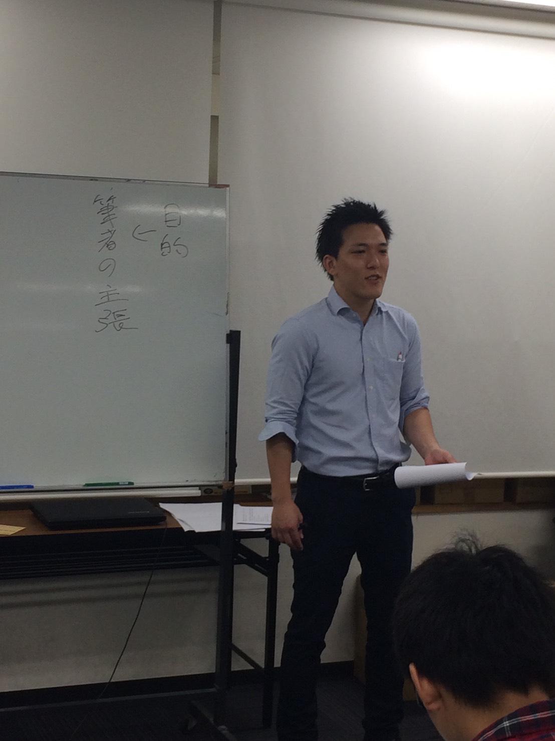 10/1(土)センター小説特講の様子